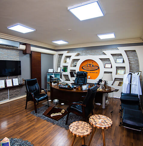 مكتب رئيس مجلس الإدارة