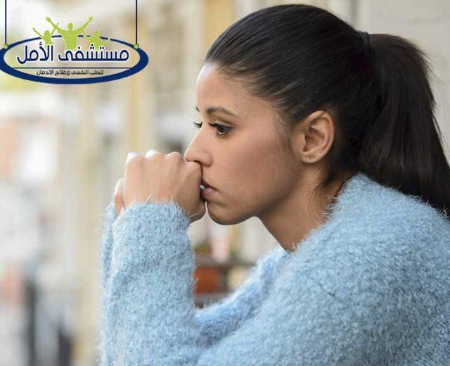 من أعراض القلق و 5