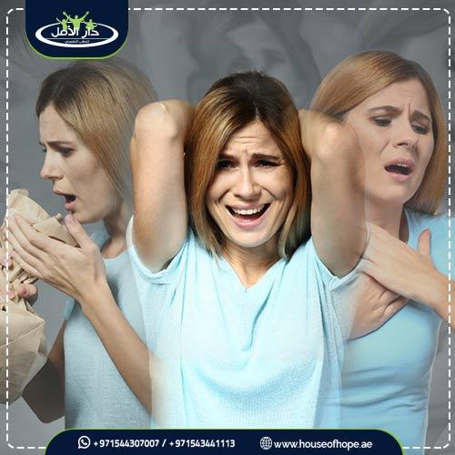 أعراض القلق الجسدية