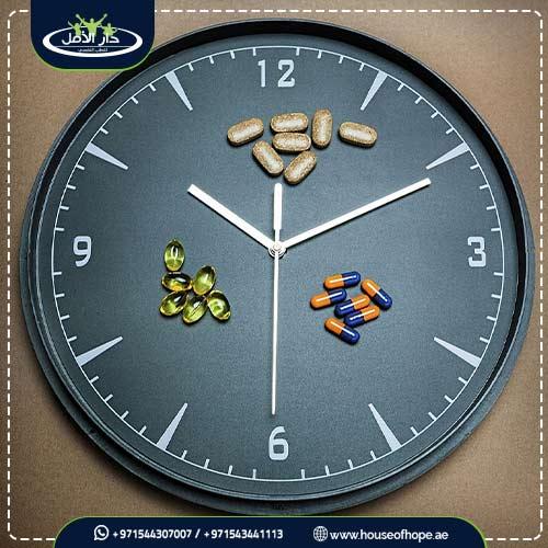 كم مدة علاج مدمن المخدرات ؟